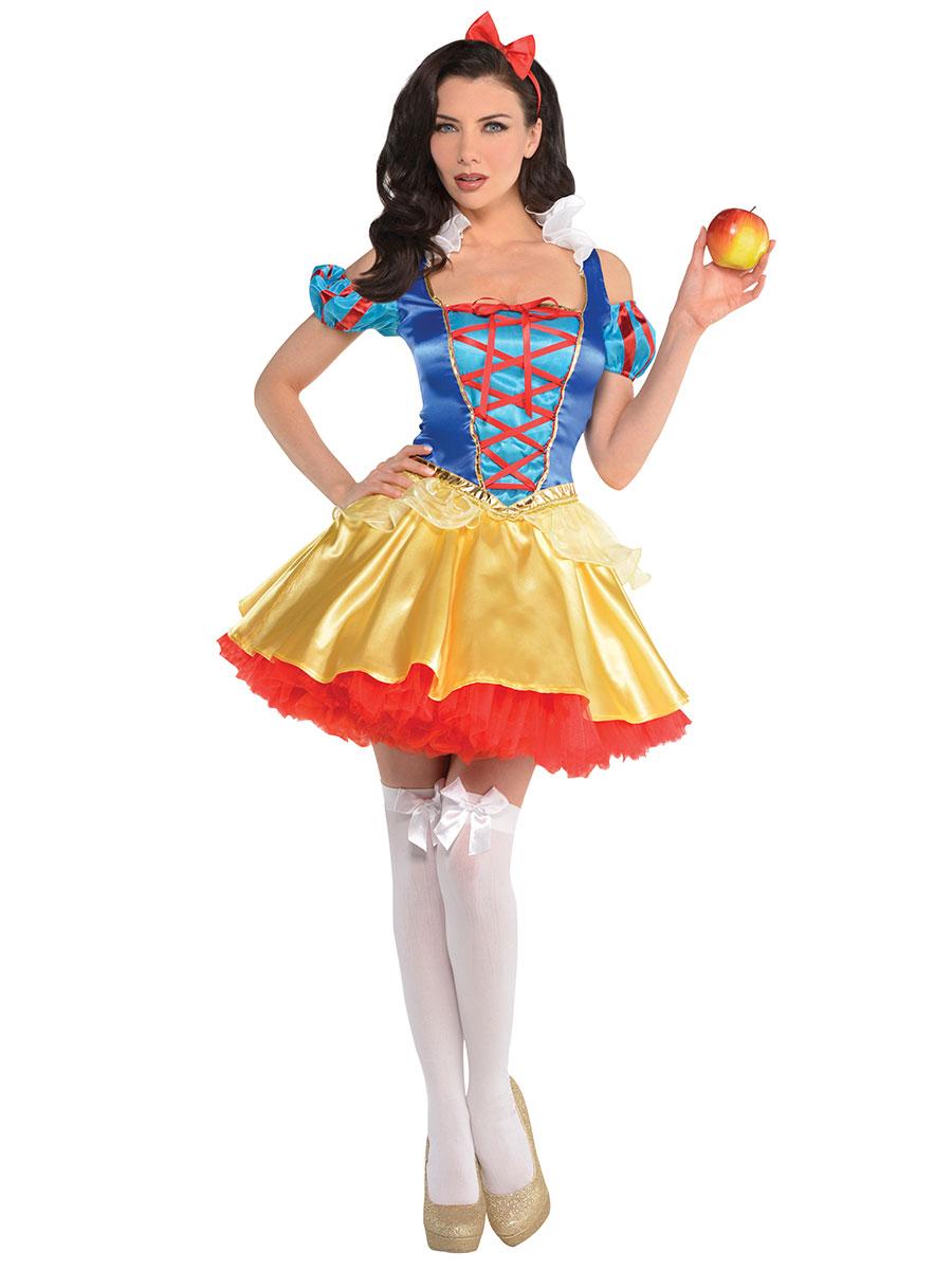 Adult snow white costume 847779 55 fancy dress ball - Costume princesse disney adulte ...