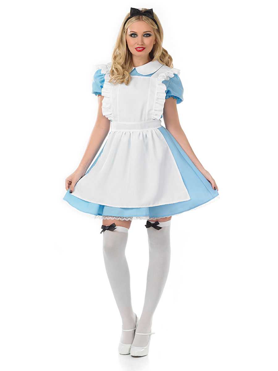 tiodegwiege.cf: Women's Alice Wonderland Blue French Apron Maid Fancy Dress Cosplay Costume: Clothing Women's Alice Wonderland Blue French Apron Maid Fancy Dress Cosplay Costume (by Amazon), it's a decent, inexpensive Alice costume. I have a similar