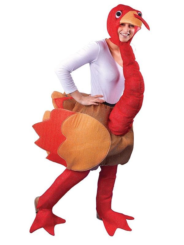 Adult Step In Turkey Costume  sc 1 st  Fancy Dress Ball & Adult Step In Turkey Costume - AC256 - Fancy Dress Ball