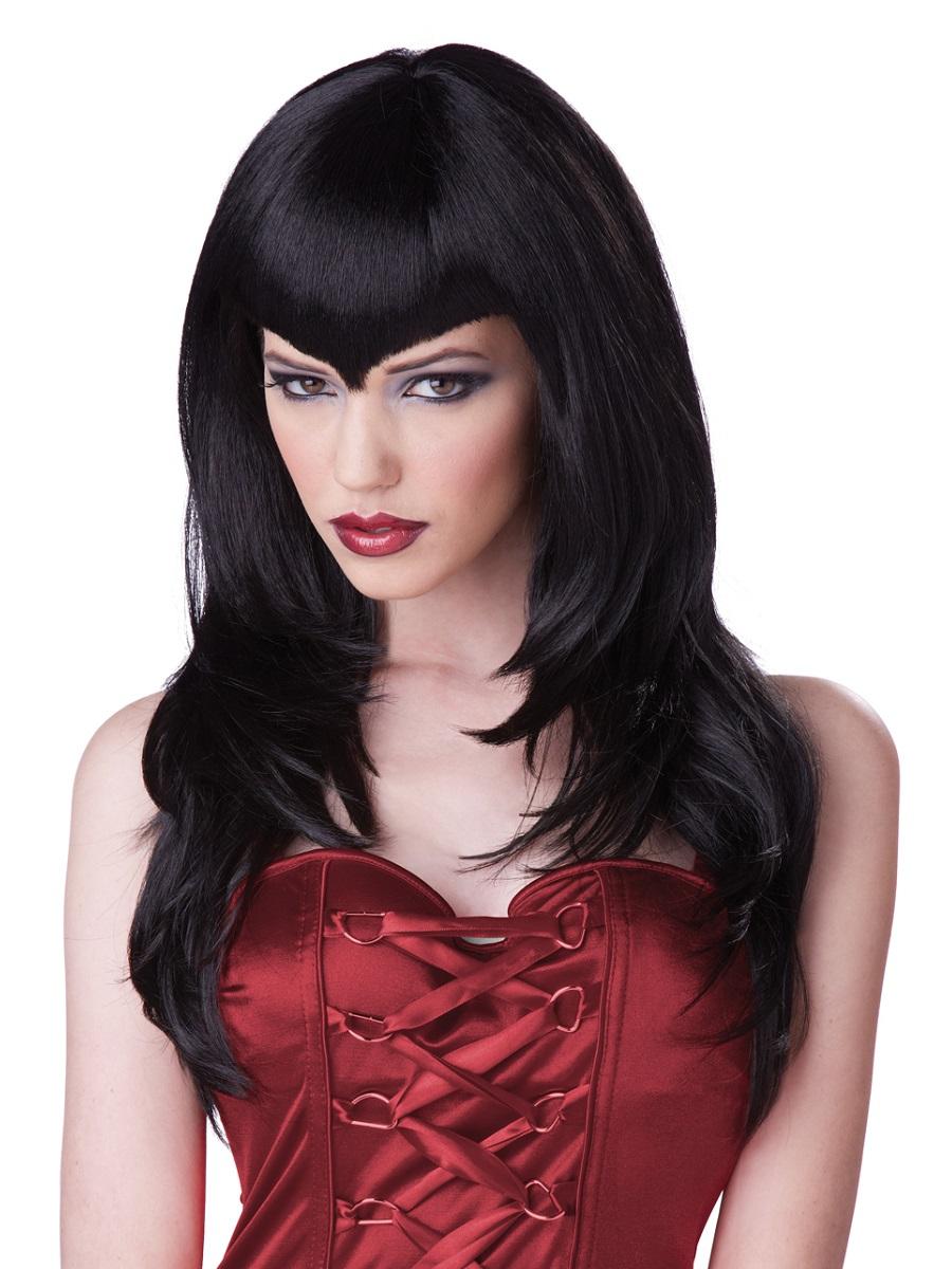 Adult Vampire Temptress Wig 70755 Fancy Dress Ball