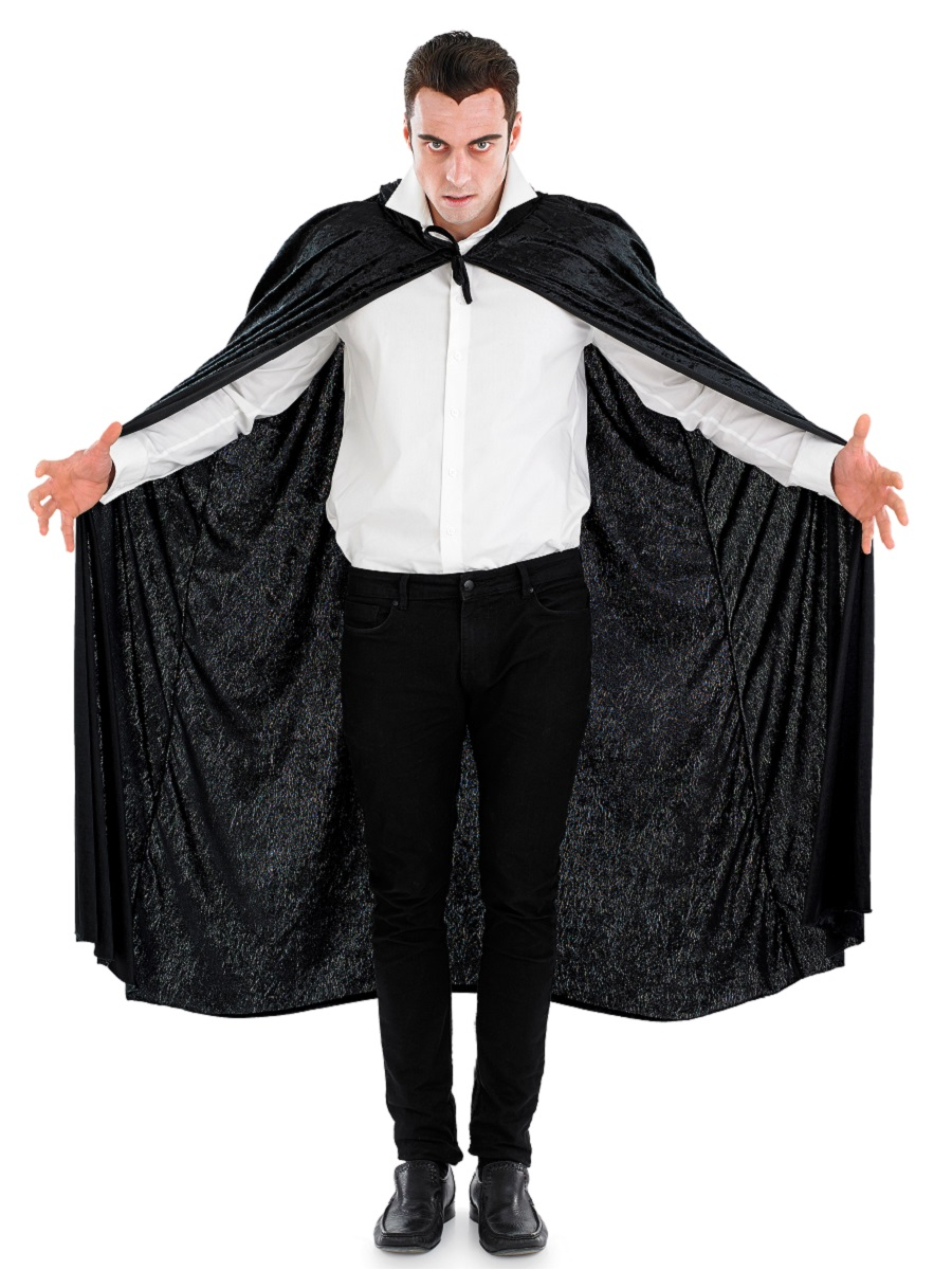 Cloak Costume Adult Hooded Cape Halloween Fancy Dress