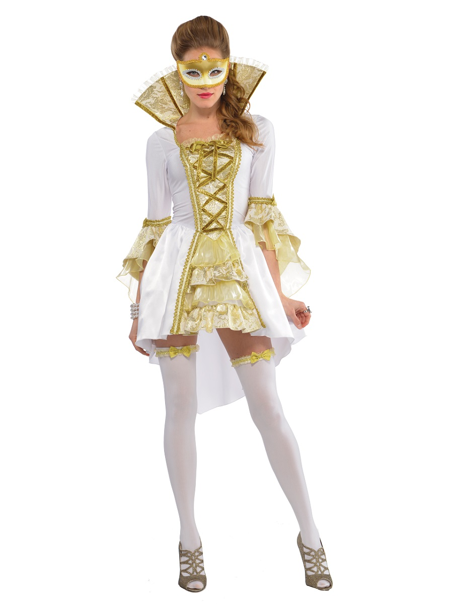 Adult Venezia Venetian Costume 997699 Fancy Dress Ball
