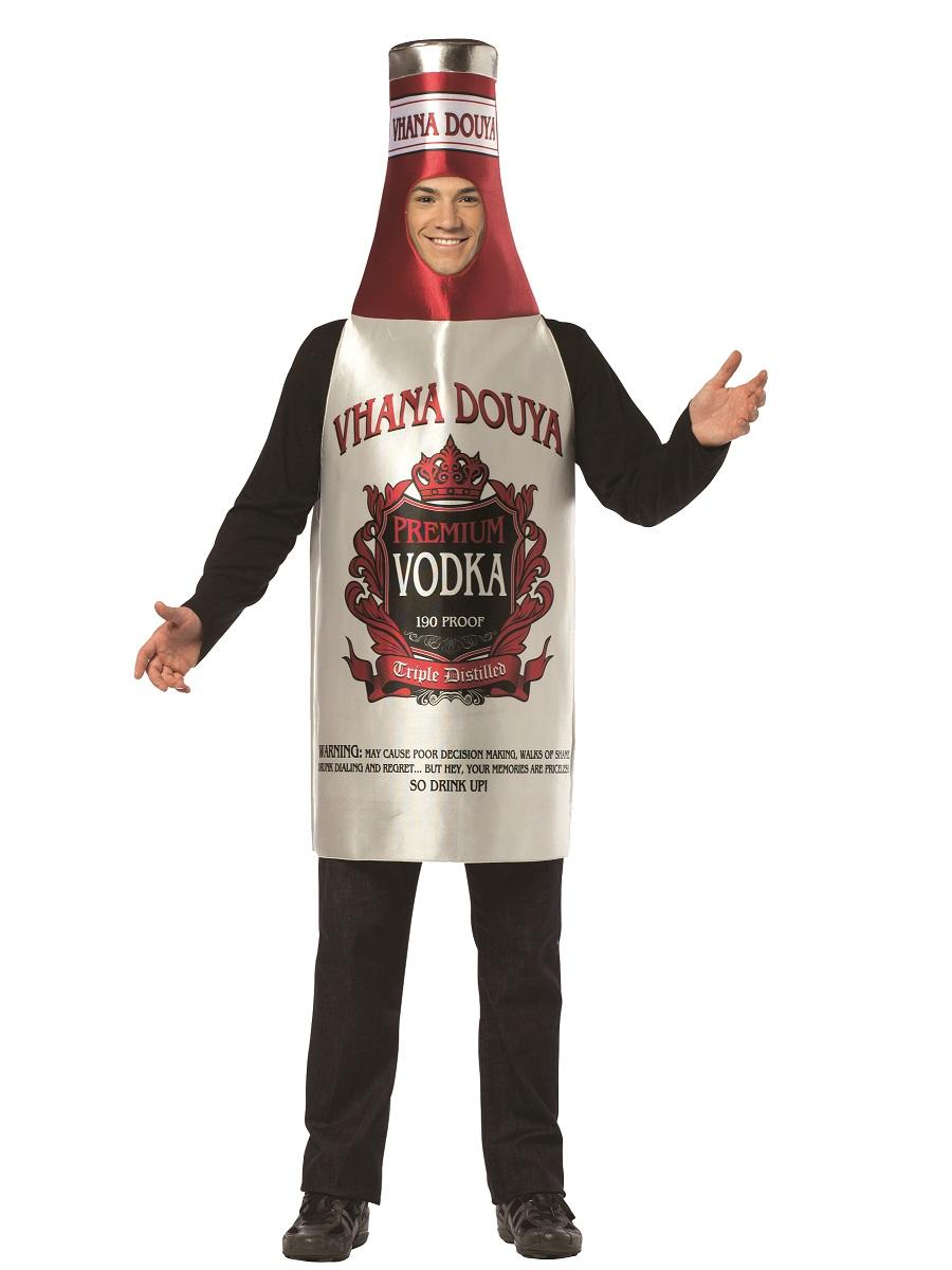Adult Vodka Costume 4000340 Fancy Dress Ball