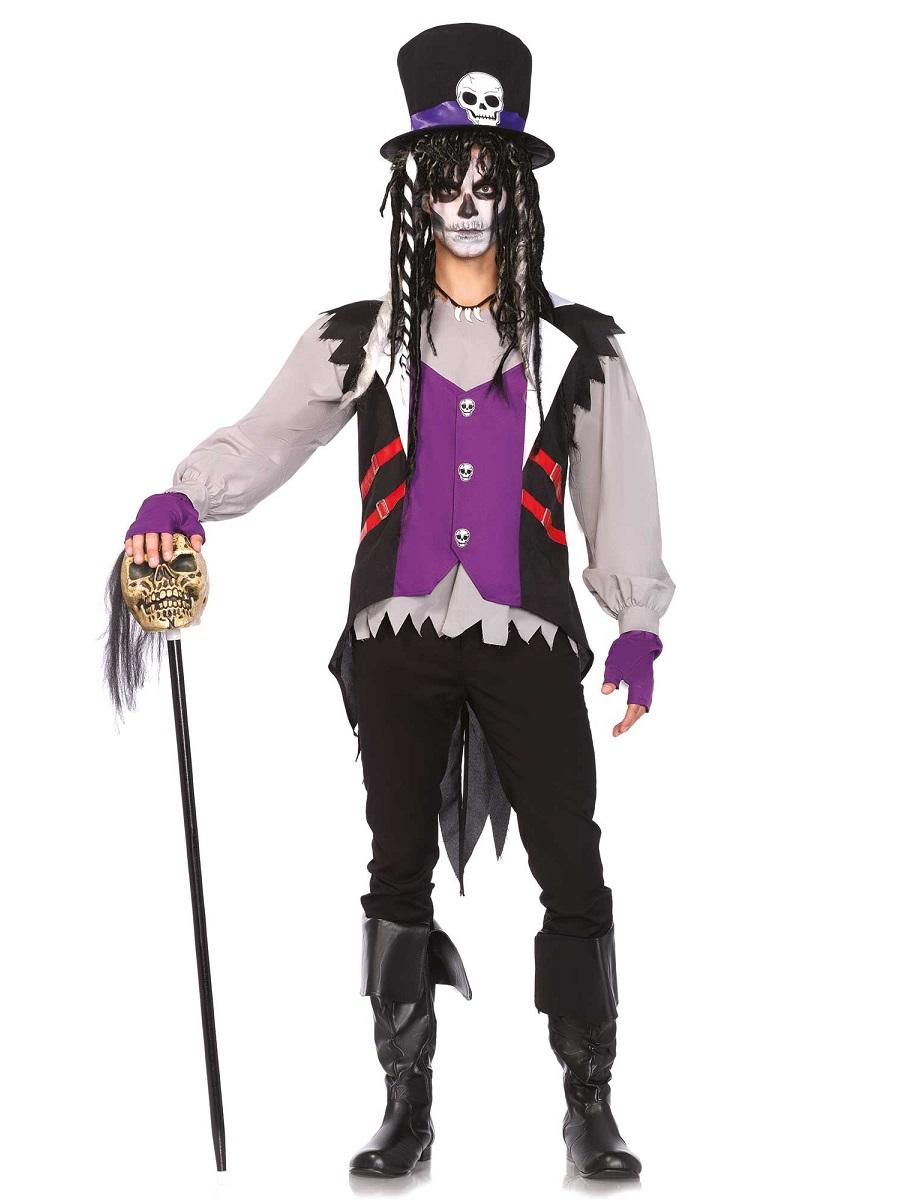 adult voodoo priest costume 85507 fancy dress ball. Black Bedroom Furniture Sets. Home Design Ideas