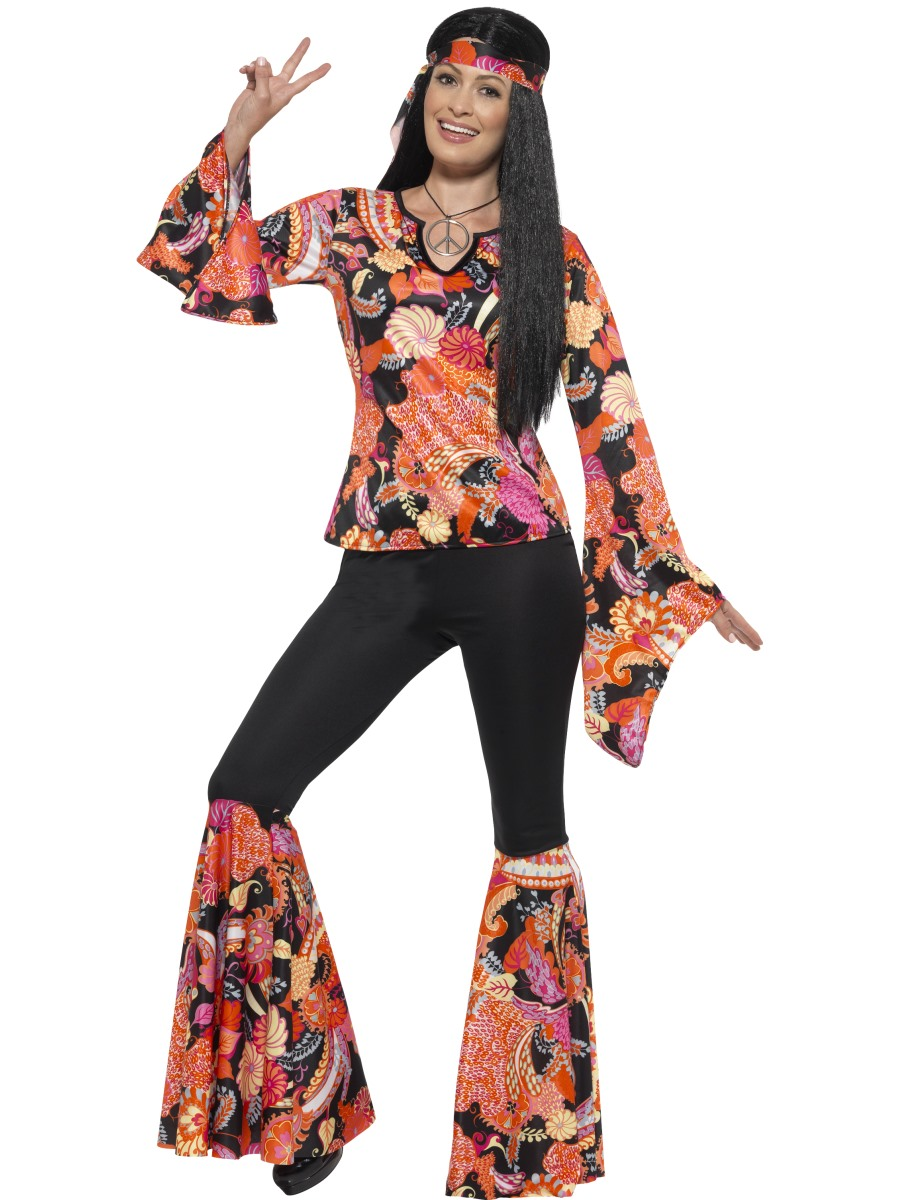 adult willow the hippie costume 45516 fancy dress ball. Black Bedroom Furniture Sets. Home Design Ideas