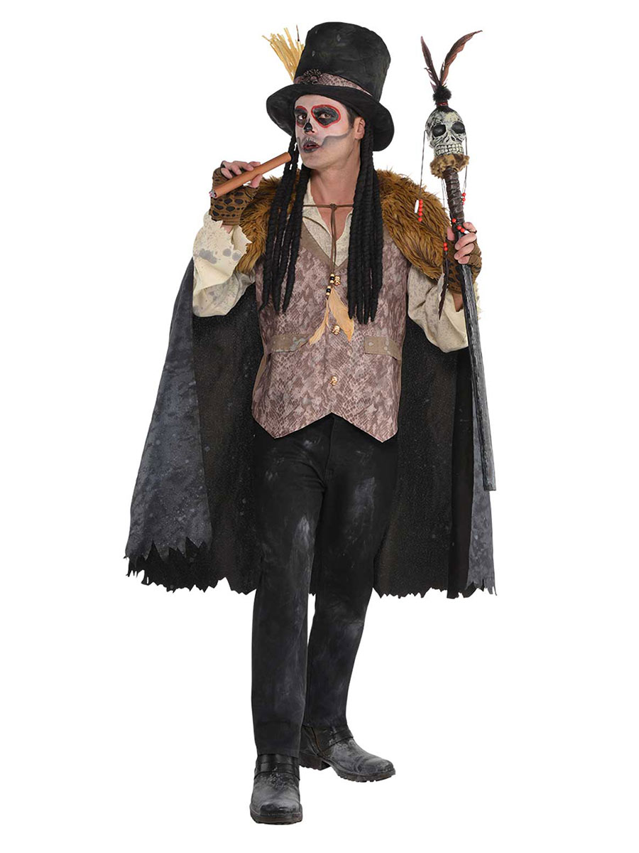 Adult Witch Doctor Costume - 845774-55 - Fancy Dress Ball