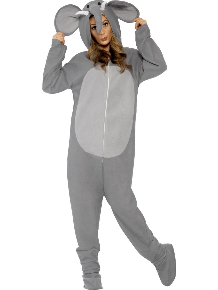 49f70d5c5f Adult Elephant Onesie Costume