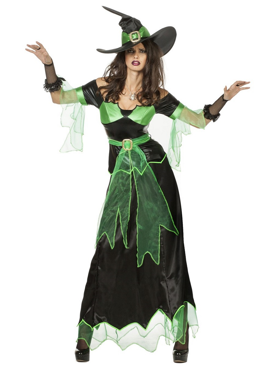 Adult Zelda Witch Costume · VIEW FULL IMAGE  sc 1 st  Fancy Dress Ball & Adult Zelda Witch Costume - 4805 - Fancy Dress Ball