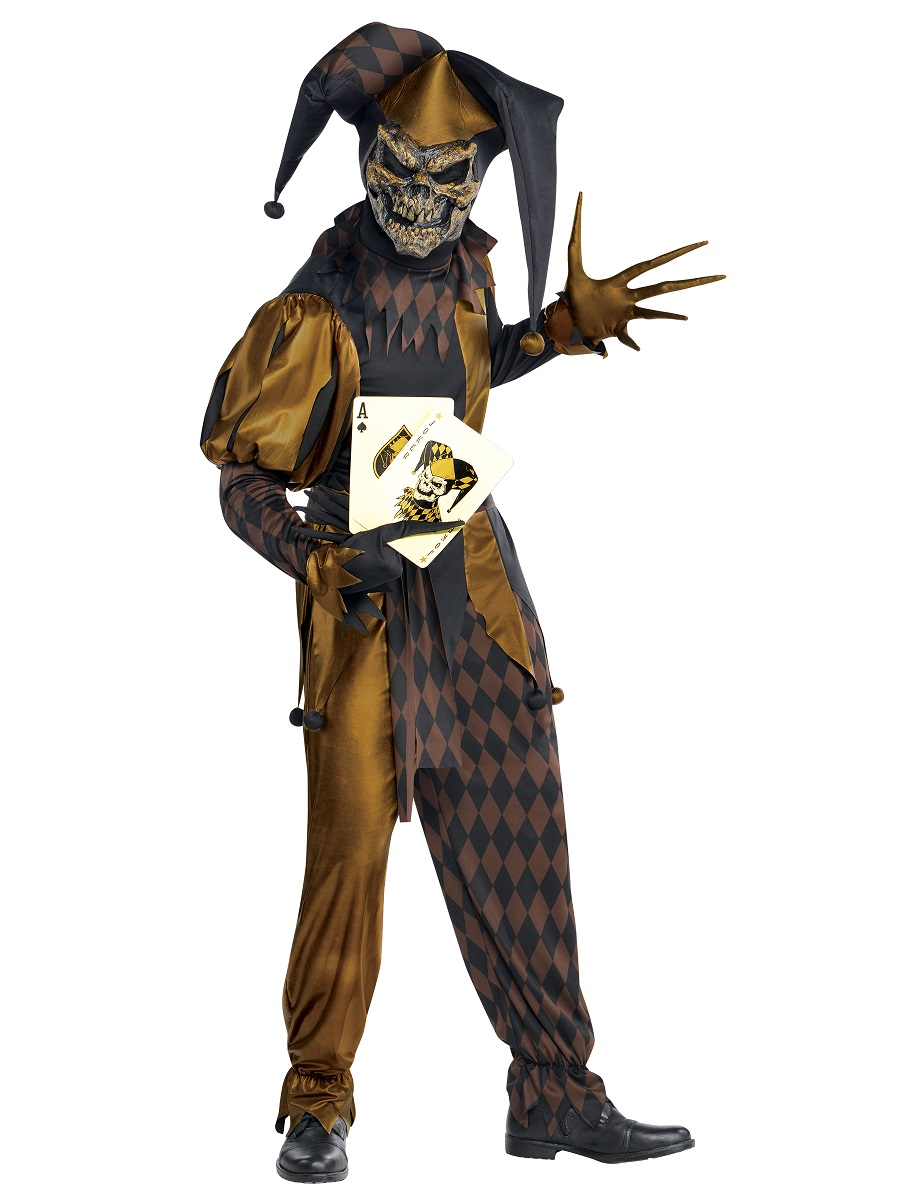 Halloween Joker Card.Adult Jokers Wild Costume