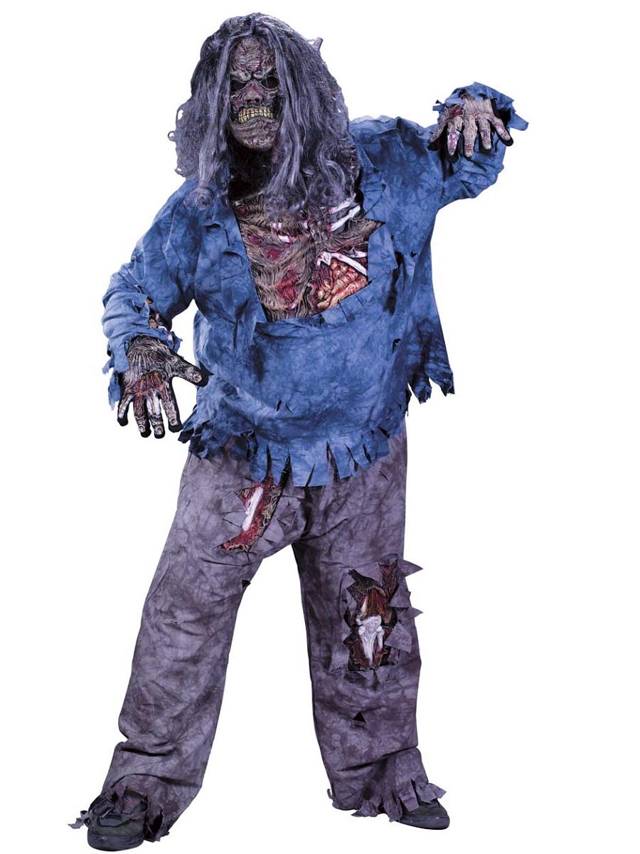 Adult Plus Size Zombie Costume 5731 Fancy Dress Ball