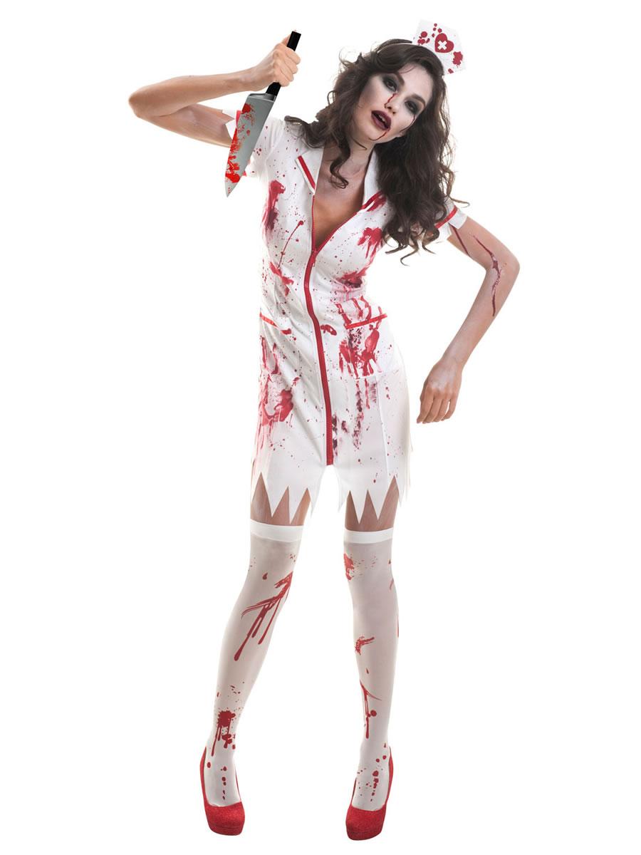 8e077df4c46ac Adult Zombie Nurse Costume - 9902685 - Fancy Dress Ball