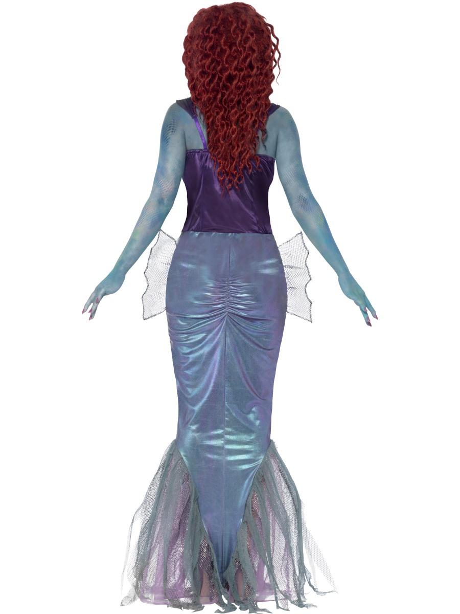 adult zombie mermaid costume  44359  fancy dress ball