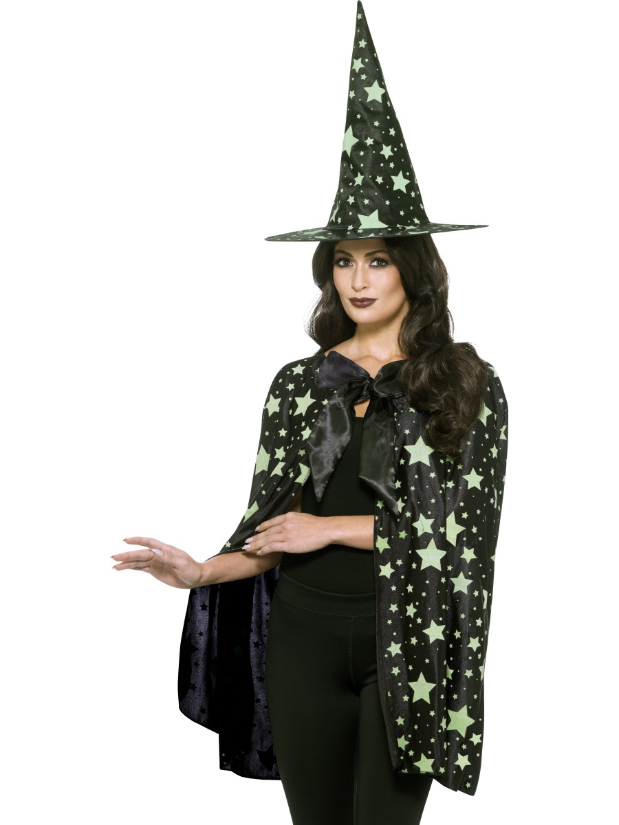 d1174165cbd Adult's Midnight Glow in the Dark Witch Kit