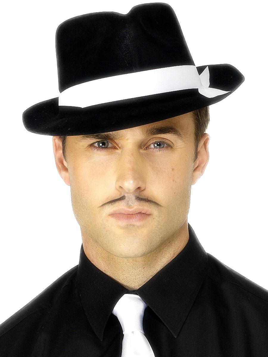 Al Capone Hat Black Flock e7a2e68cf65