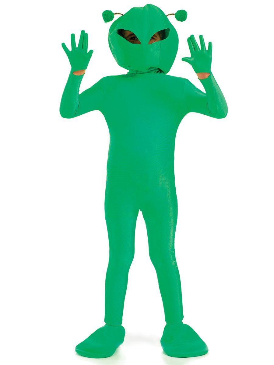 "42/"" Alien Skeleton Prop Halloween House Party Decoration Martian Fancy Dress"
