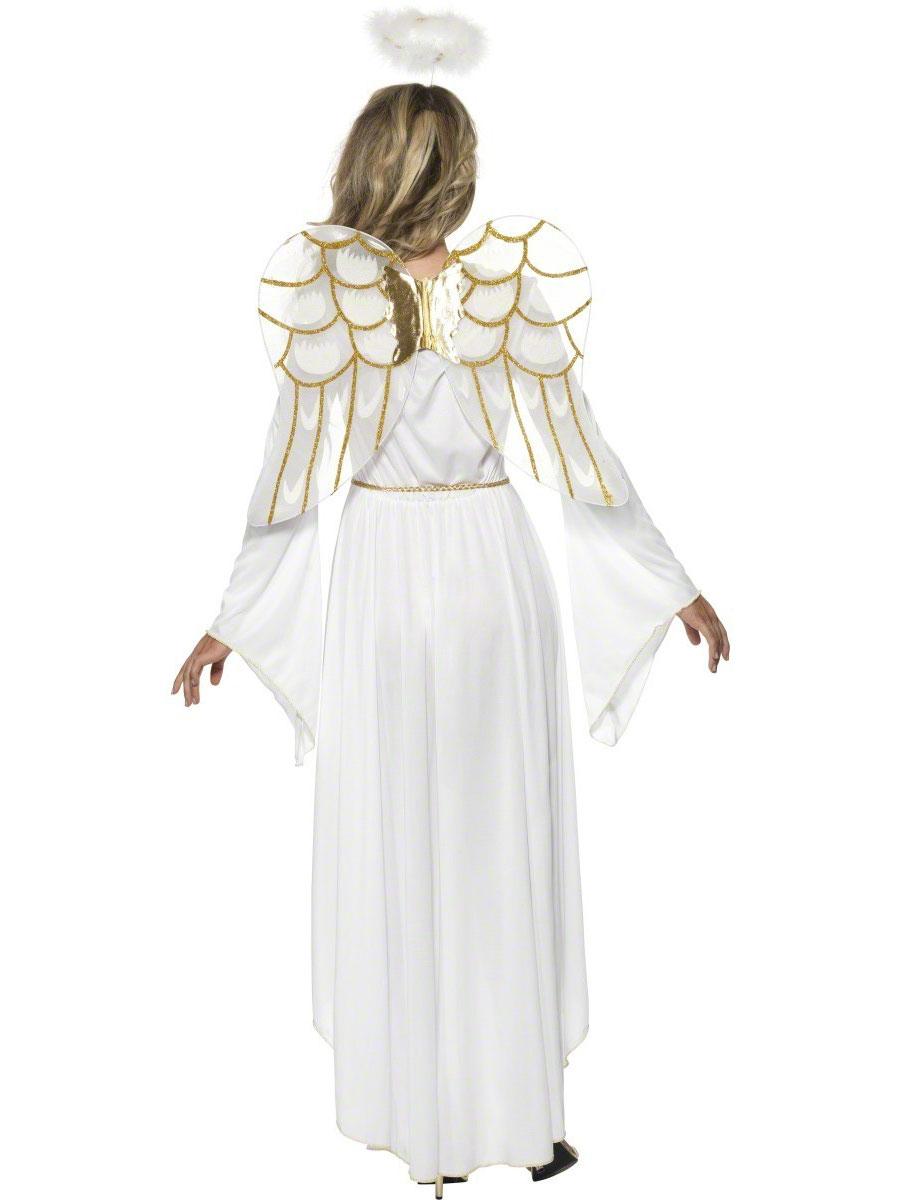 adult angel costume 36977 fancy dress ball. Black Bedroom Furniture Sets. Home Design Ideas