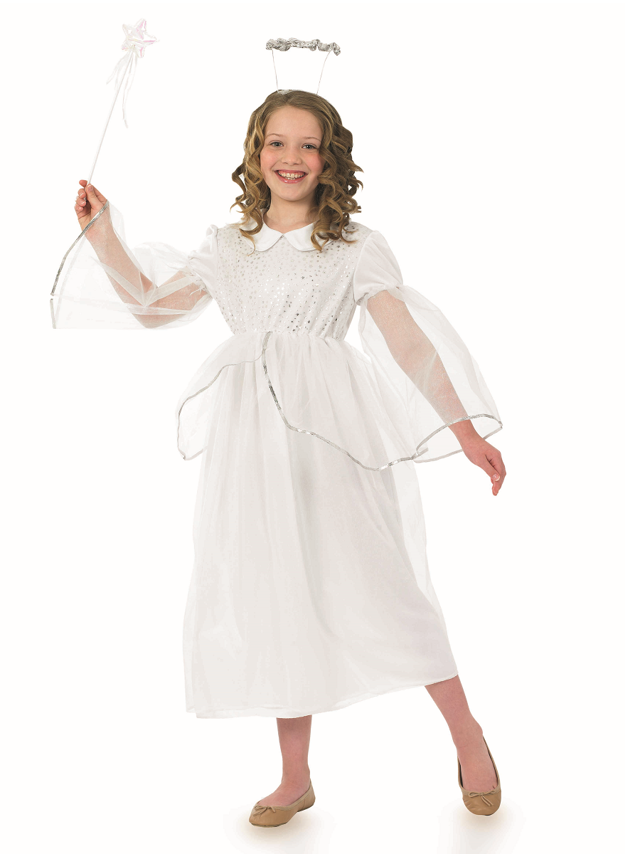 Child Angelic Angel Costume Fs3469 Fancy Dress Ball