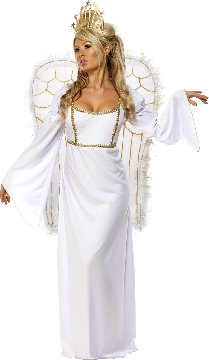 Adult Angel Gown Costume - 31289 - Fancy Dress Ball