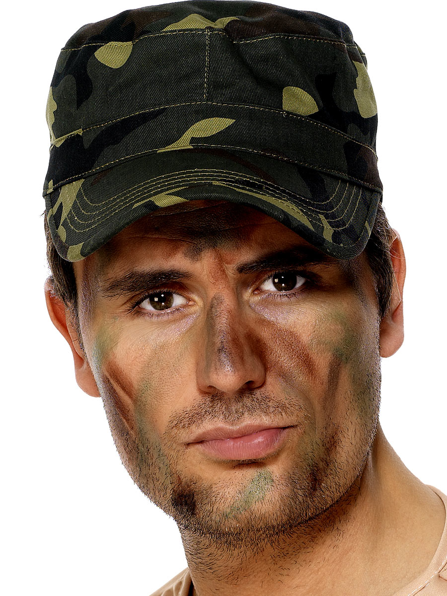 Army Man Costume Face Paint