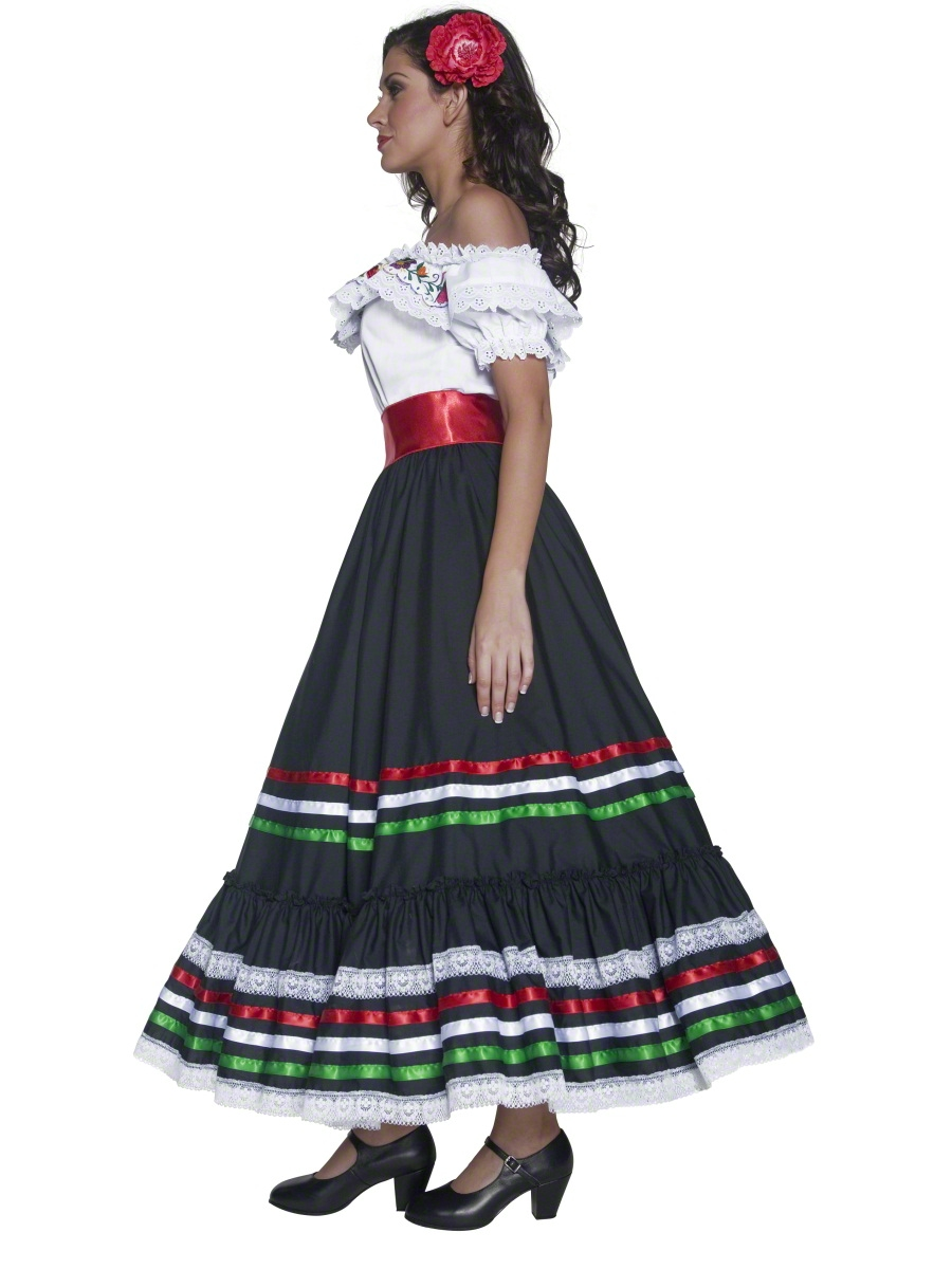 Adult Authentic Western Sexy Senorita Costume 34449