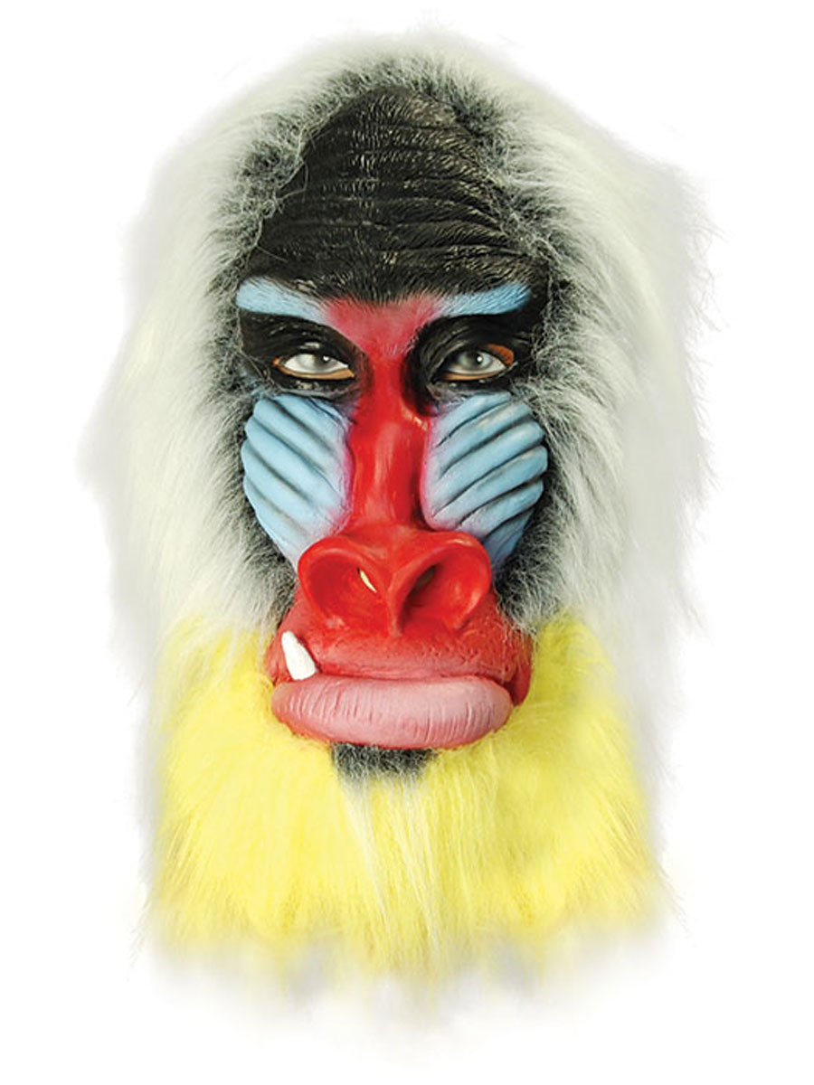 Baboon Mask BM333 Fancy Dress Ball