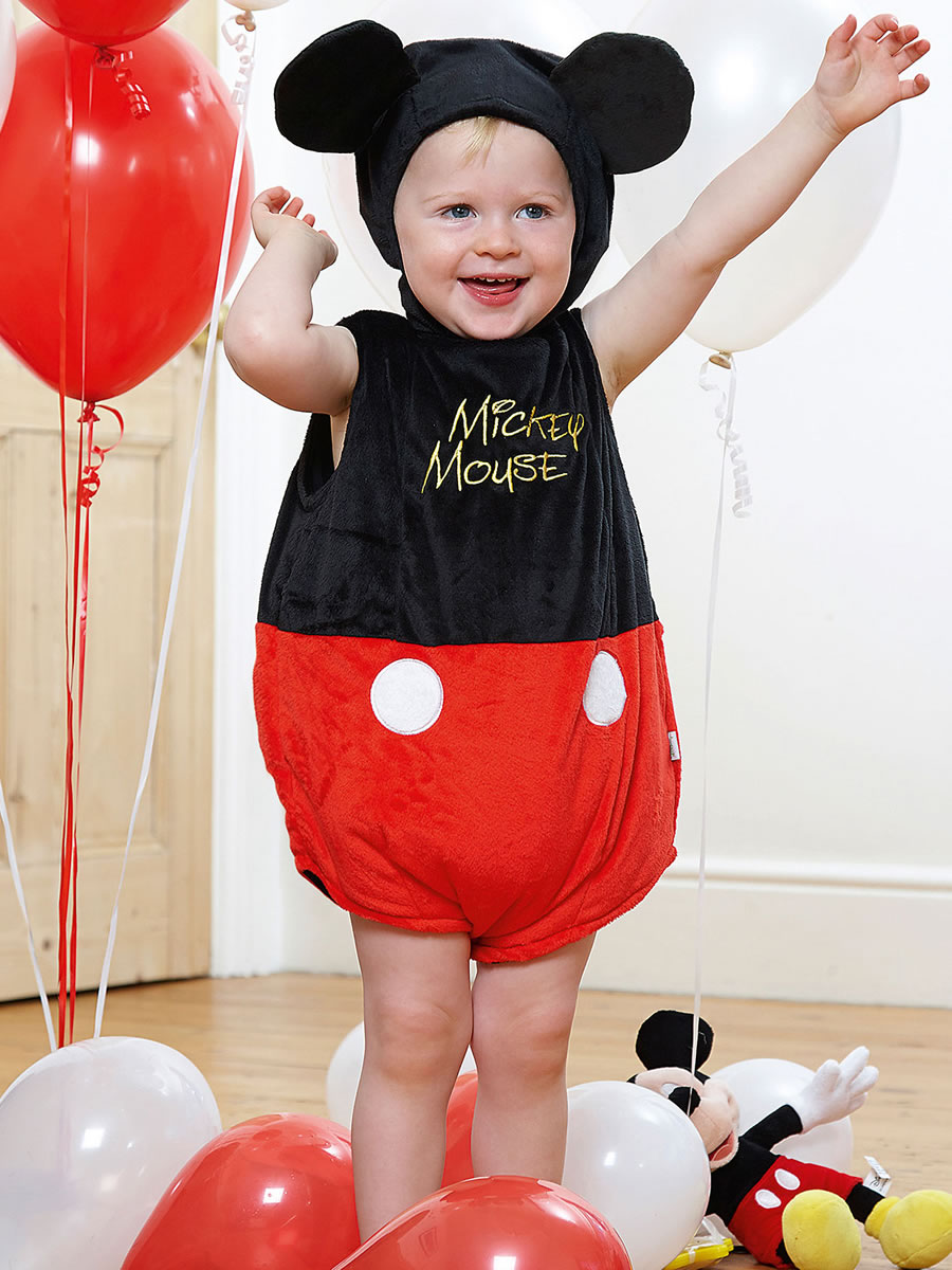 Baby Disney Mickey Mouse Costume - DCMIC-TA03 - Fancy Dress Ball