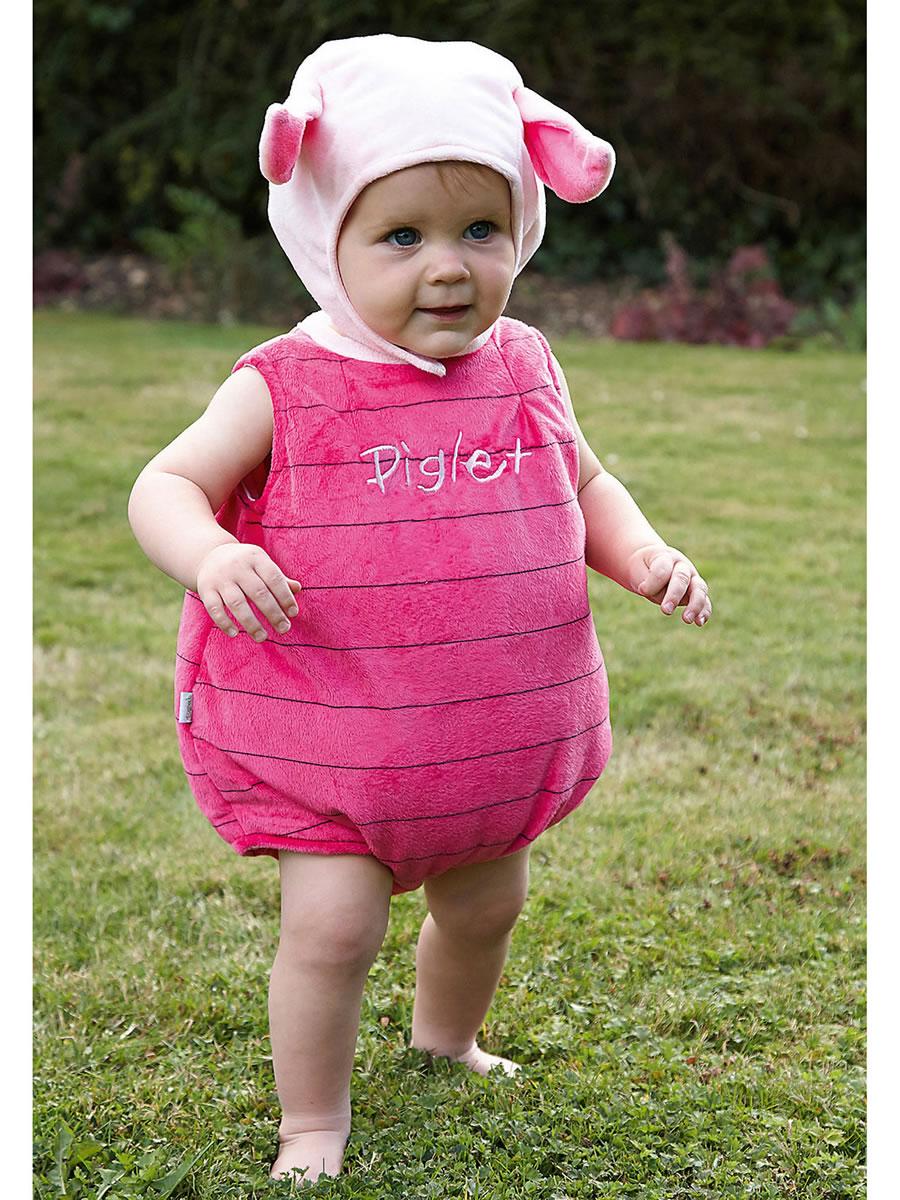 157c076a3ca8 Baby Disney Piglet Costume - DCPIG-TA03 - Fancy Dress Ball