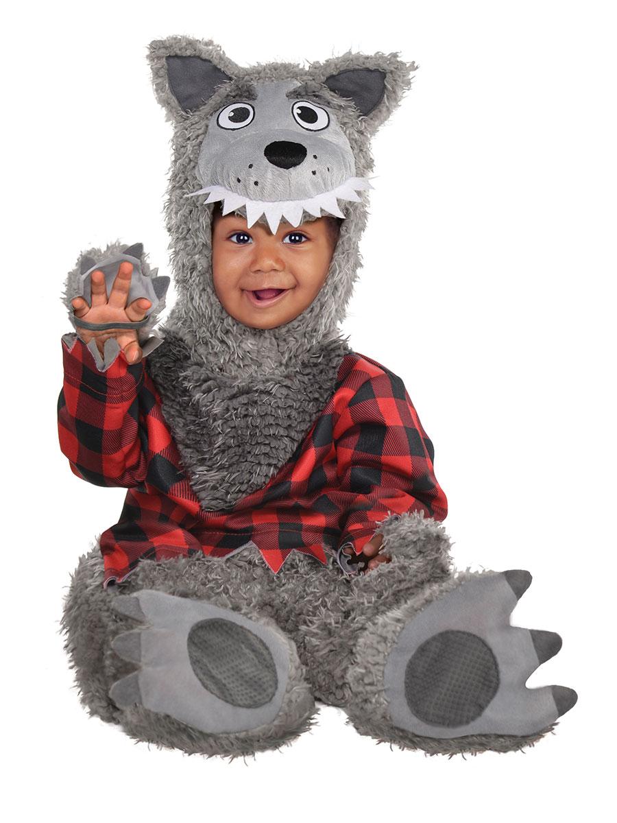 Baby Wolf Costume Fancy Dress Ball