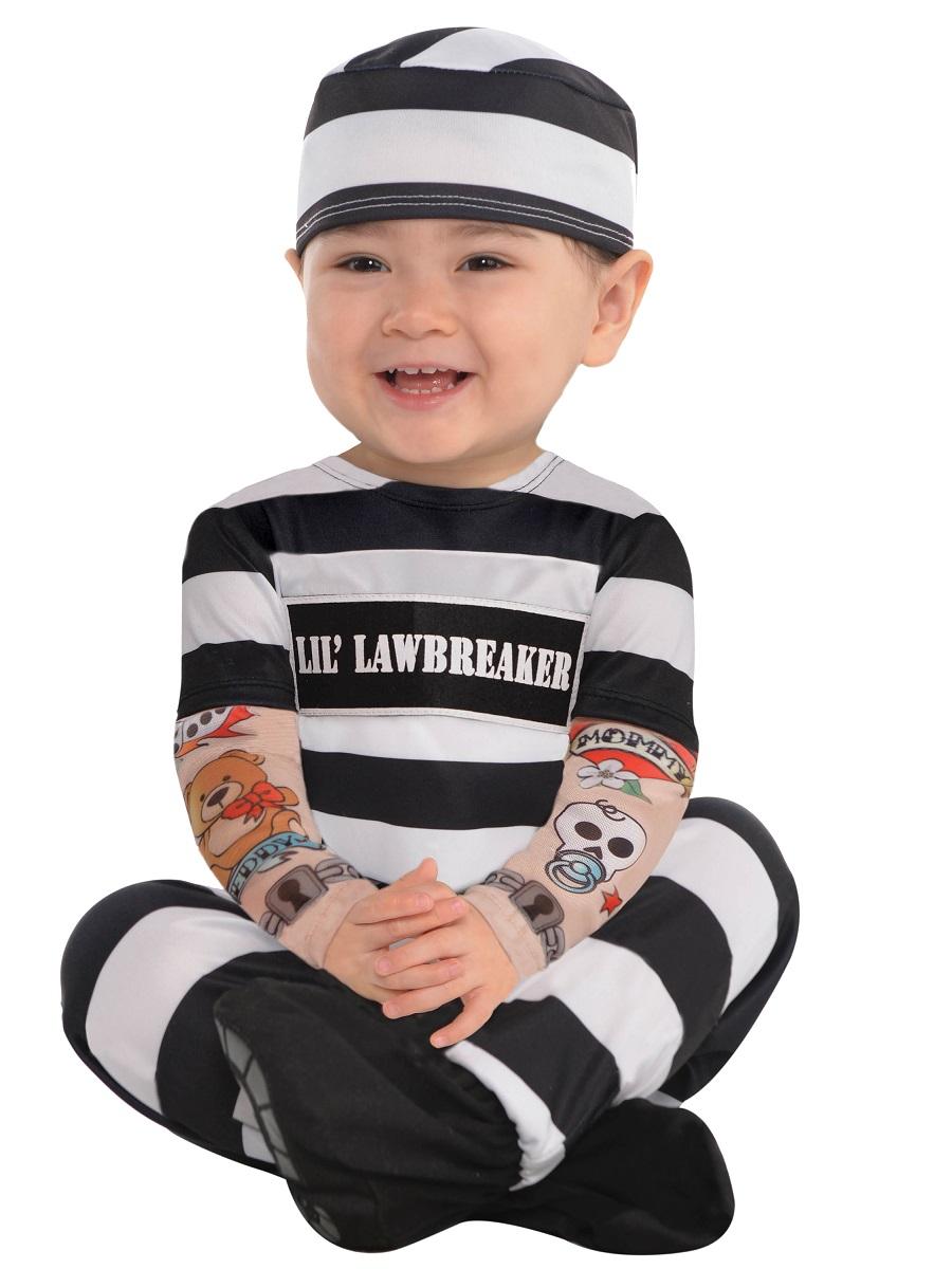 Baby Lil Law Breaker Costume - 846804-55 - Fancy Dress Ball