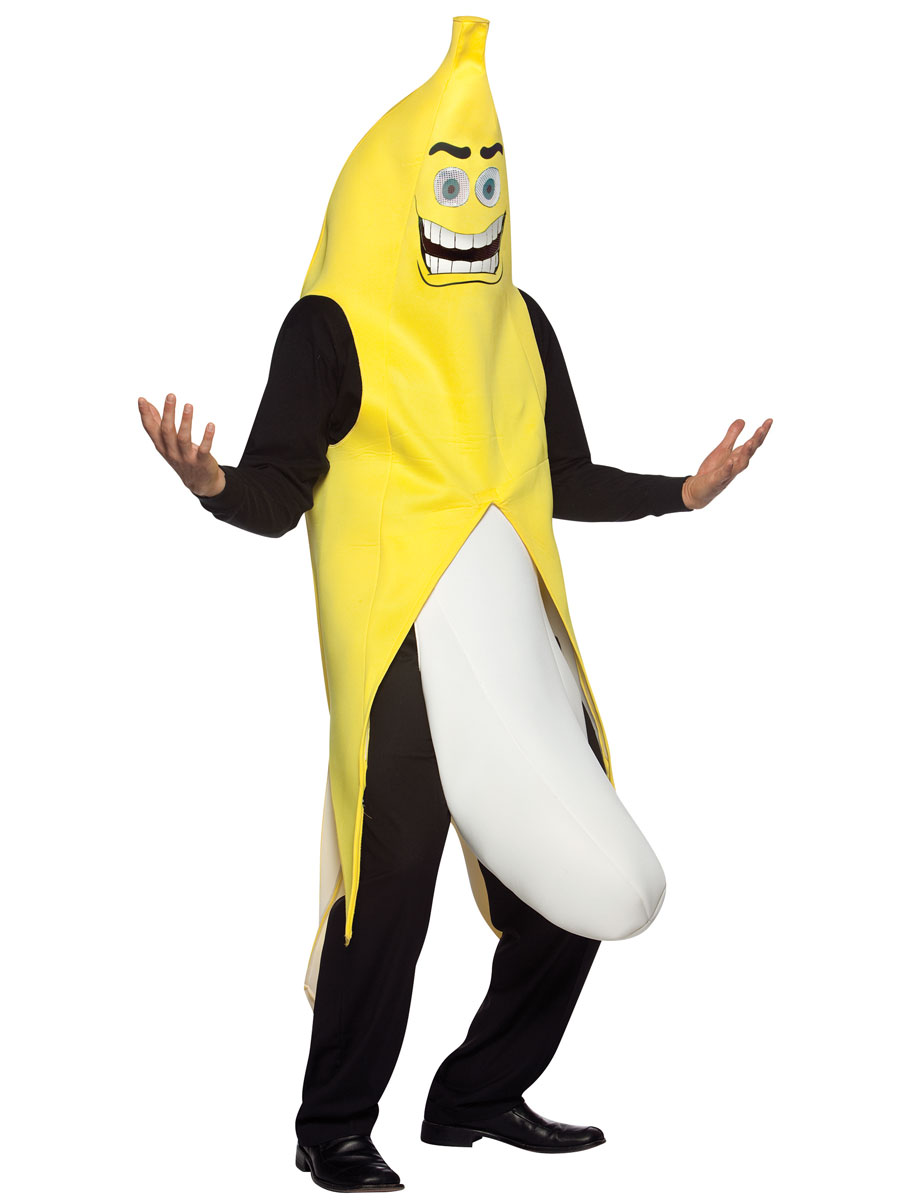 Details about Flashing Banana Mens Fancy Dress Flasher Fruit Food Halloween Adults Costume Be the first to write a review. Flashing Banana Mens Fancy Dress Flasher Fruit Food Halloween Adults Costume.