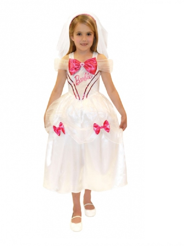 832a539c Barbie Bride Childrens Costume - 997118 - Fancy Dress Ball