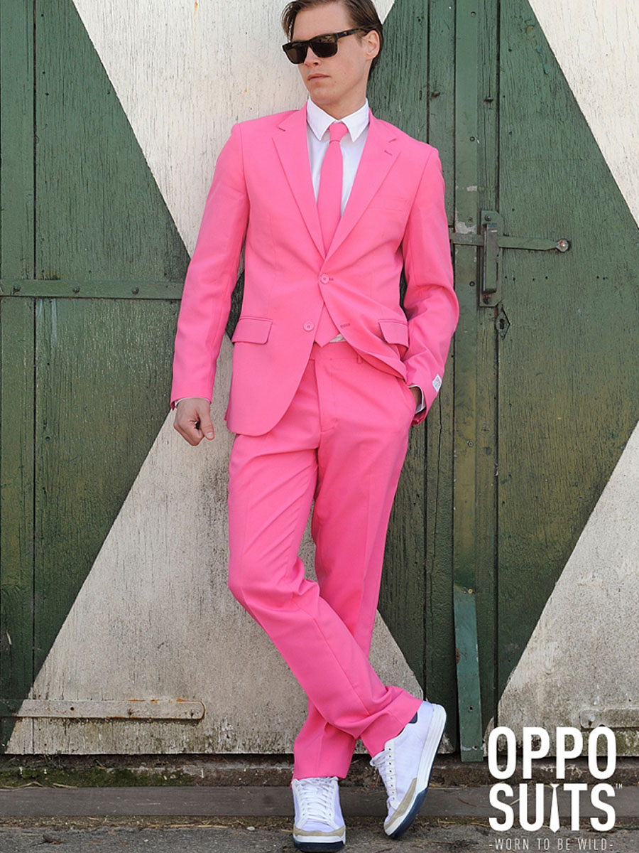 Adult Mr Pink Oppo Suit - 0015 - Fancy Dress Ball - photo#8