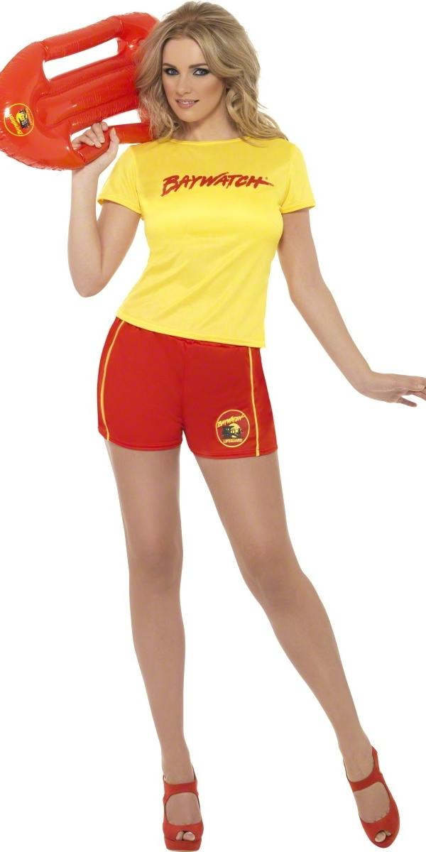 Adult Baywatch Ladies Beach Costume 32831 Fancy Dress Ball