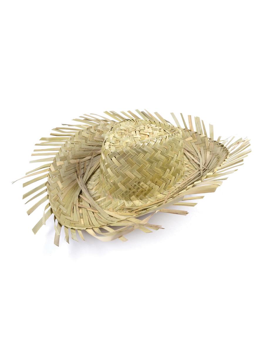 Beachcomber Straw Hat Bh100 Fancy Dress Ball