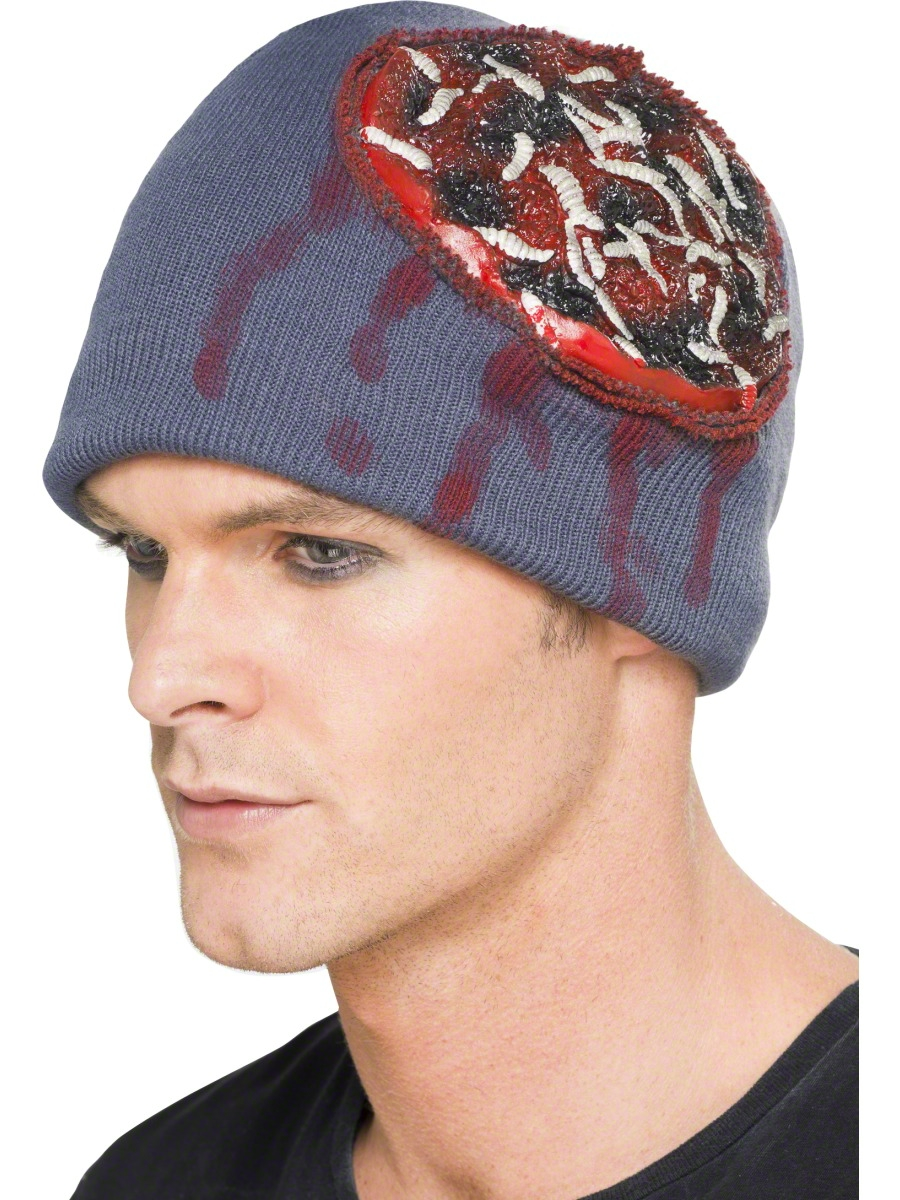 c15bf324a76 Brain Beanie Hat - 24981 - Fancy Dress Ball