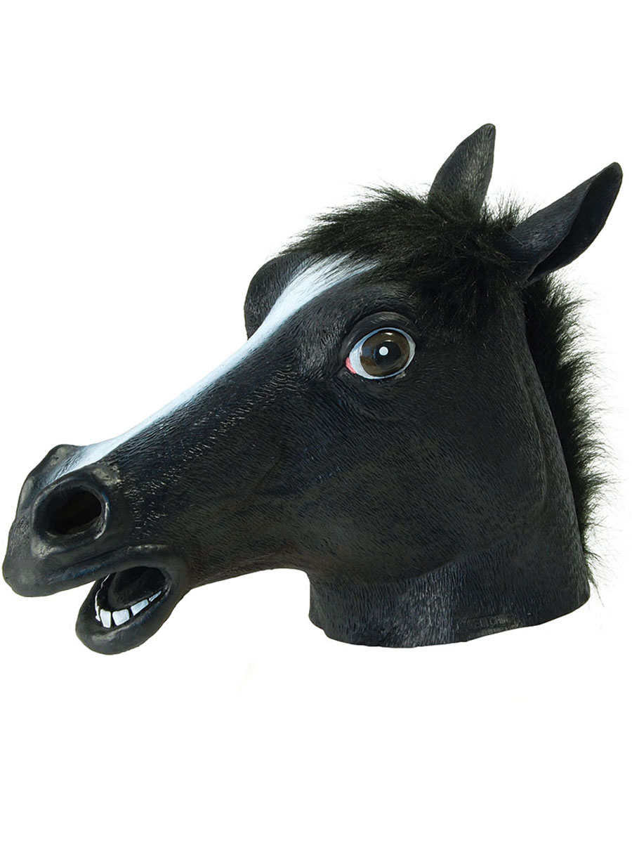 Black Beauty Horse Mask Bm317 Fancy Dress Ball