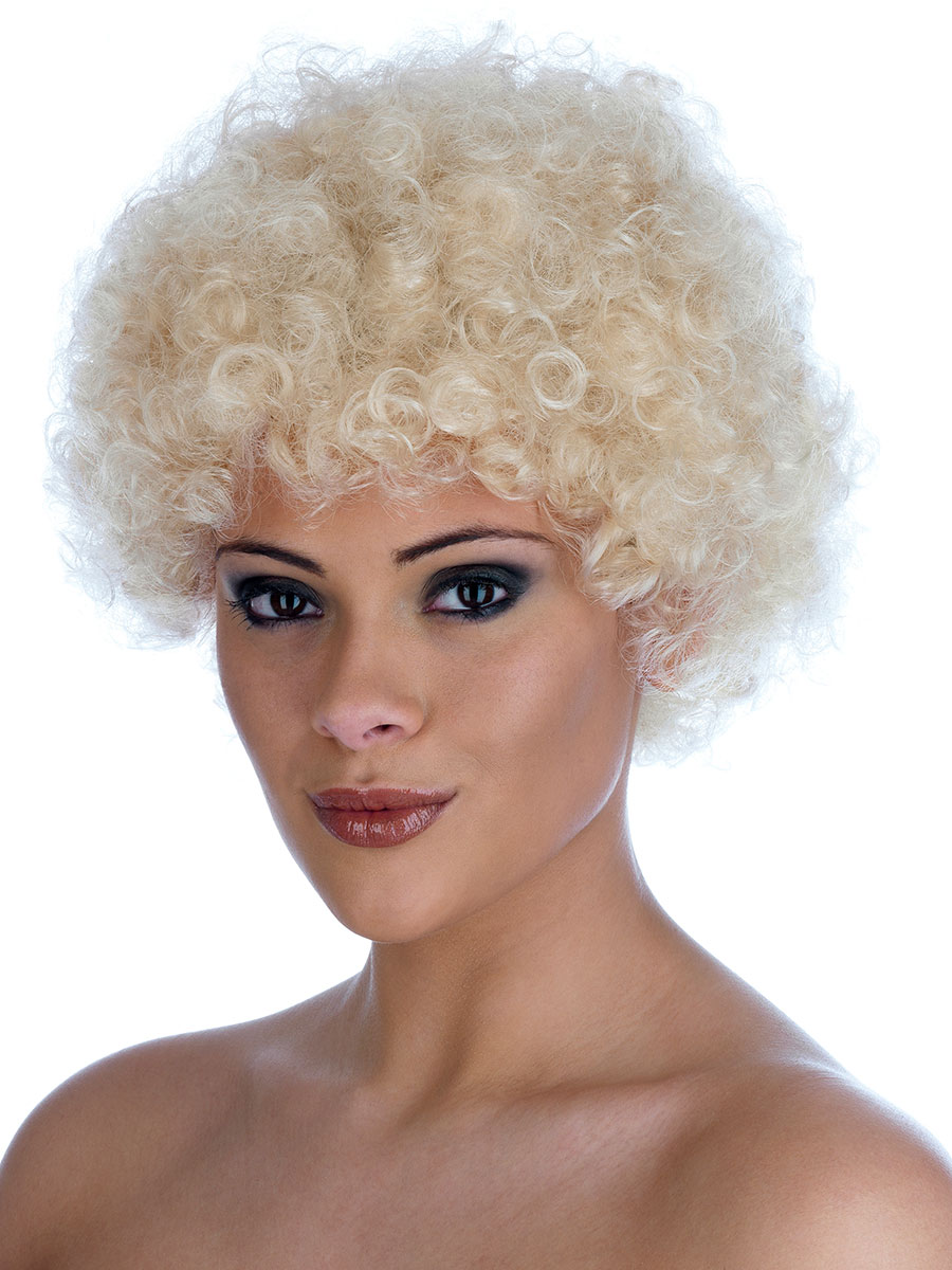 Blond Afro Wigs 100