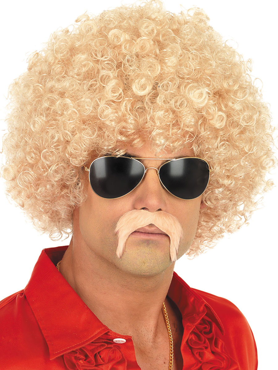 Blond Afro Wigs 98