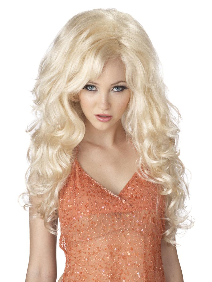 bombshell blonde wig wigs ladies dress
