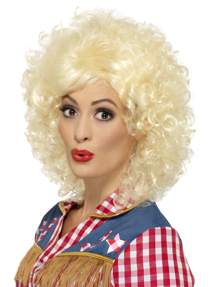 Blonde Rodeo Doll Wig 45167 Fancy Dress Ball
