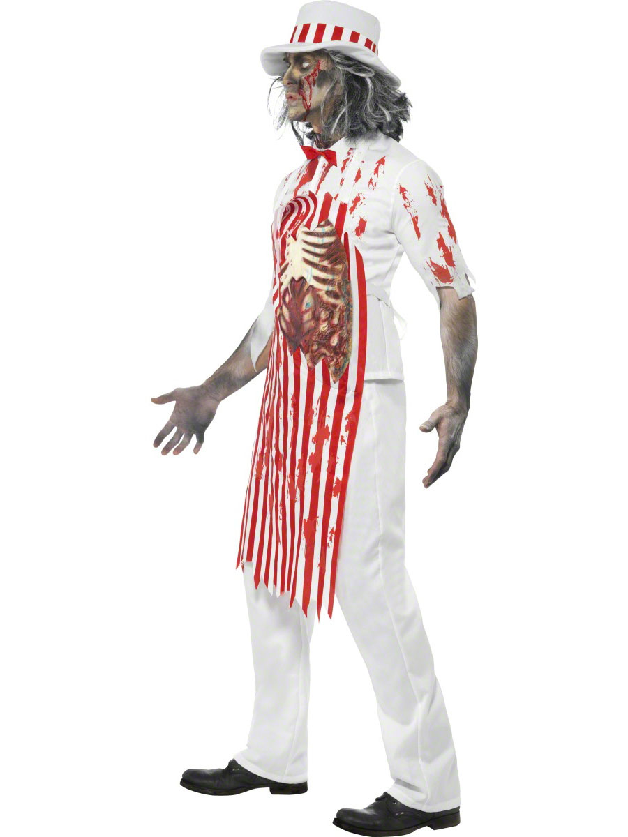 adult bloody butcher costume 21589 fancy dress ball. Black Bedroom Furniture Sets. Home Design Ideas