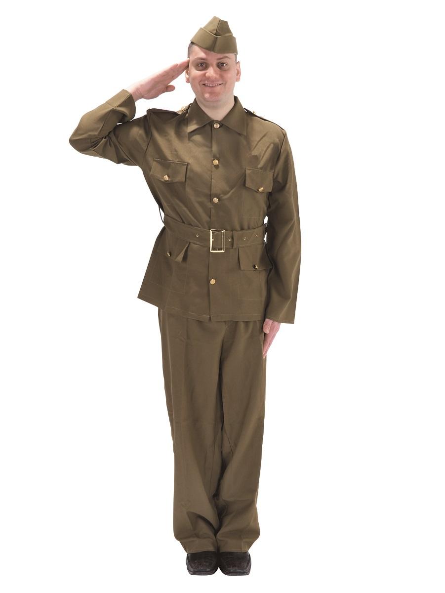 British Soldier Costume Kids