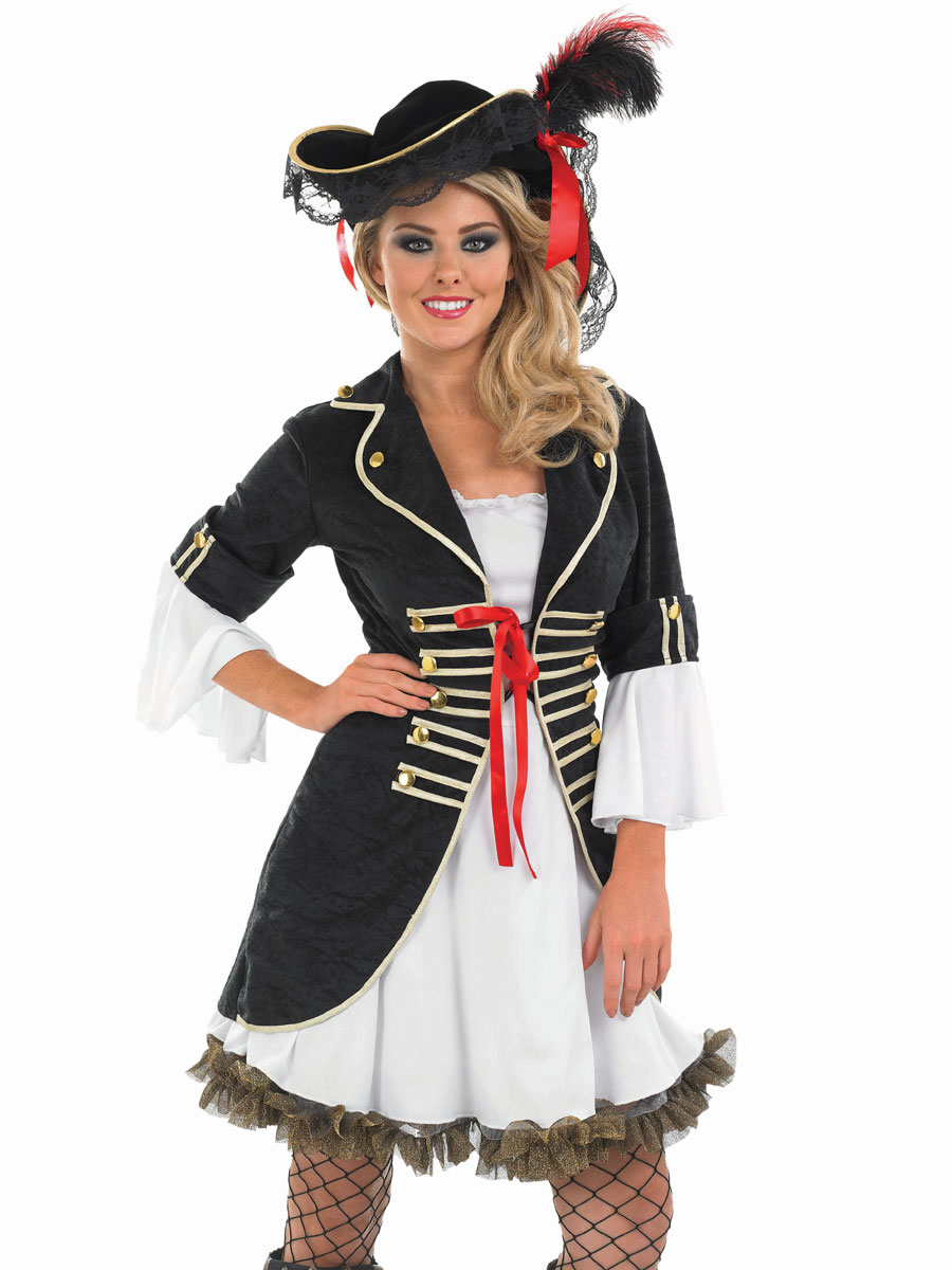Adult Buccaneer Pirate Girl Costume  sc 1 st  Fancy Dress Ball & Womenu0027s Pirate Fancy Dress Costumes u0026 Ladies Outfits | Fancy Dress Ball