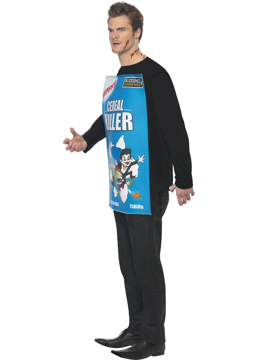 Adult Cereal Killer Costume - 38267 - Fancy Dress Ball