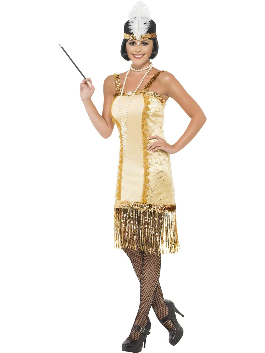 Pics Photos - 1920s 1930s Flapper Charleston Fancy Dress Ladies 1920s ...