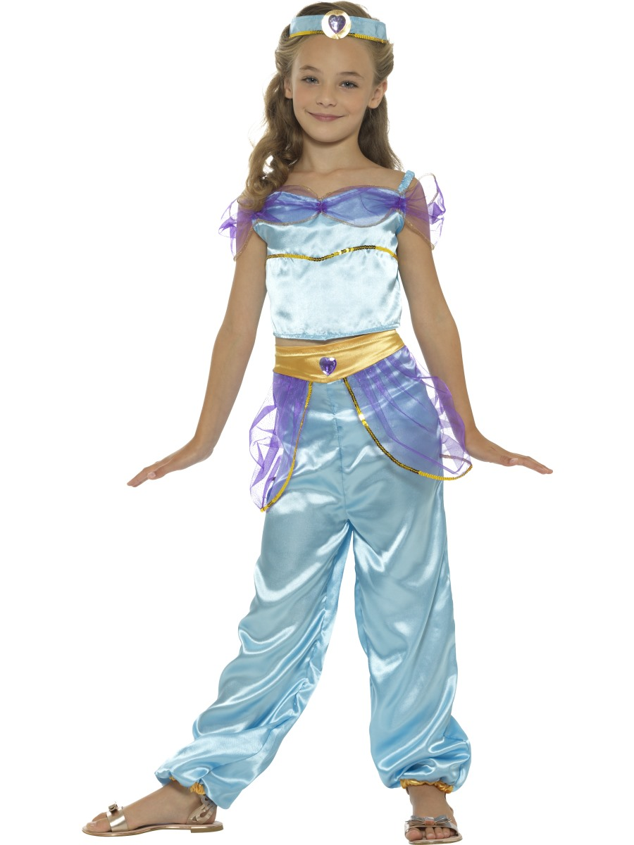 Child Arabian Princess Costume 21409 Fancy Dress Ball