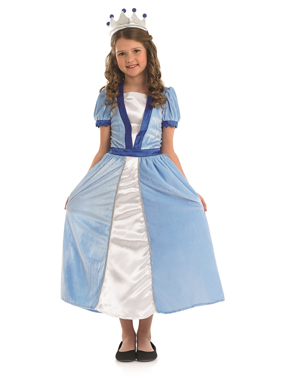 Child Blue Princess Costume Fs3993 Fancy Dress Ball