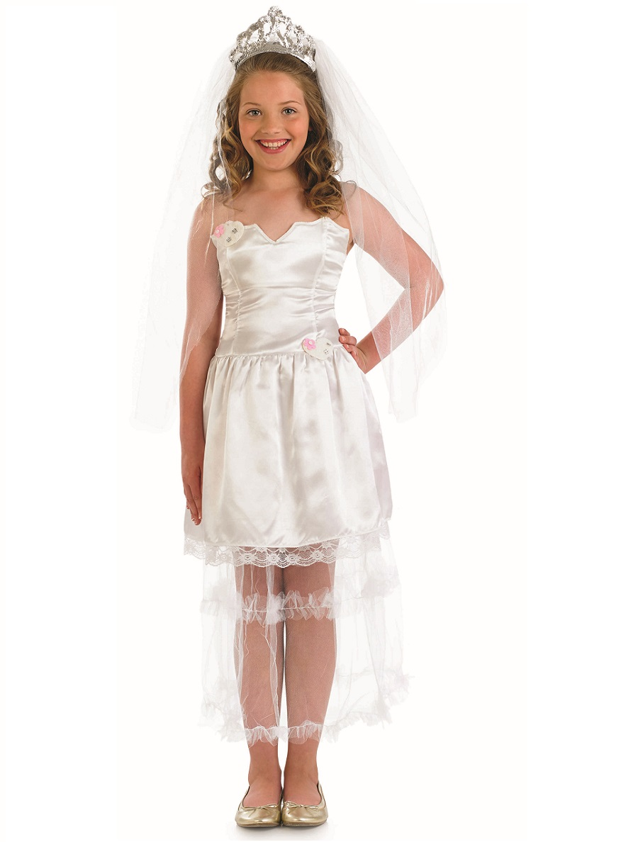 Child Bride Costume Fs3598 Fancy Dress Ball