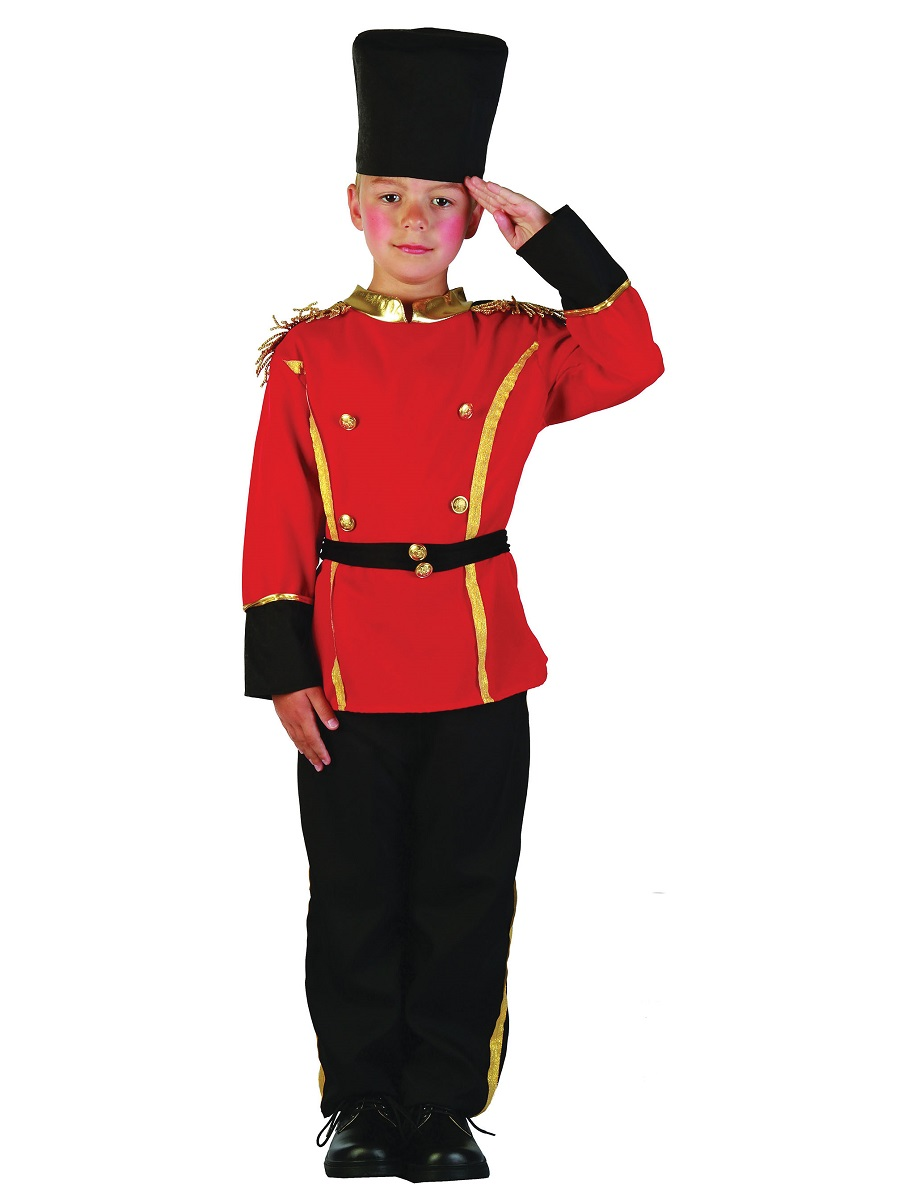 British Soldier Costume Kids