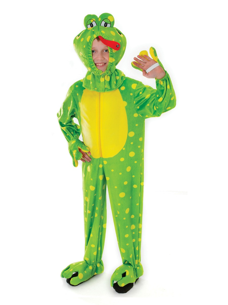 Child Frog Costume Cc054 Fancy Dress Ball